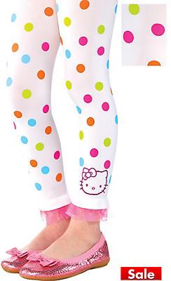 Child Hello Kitty Footless Tights