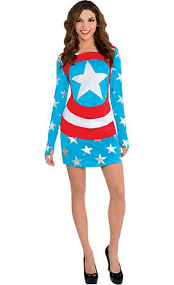 American Dream Long-Sleeve Dress