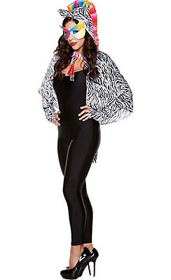 Ziggy Stripes Zebra Cape Kit