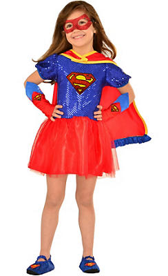 Girls Supergirl Dress