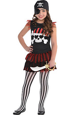 Child Pirate Tutu Dress