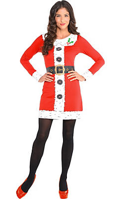 Santa Long-Sleeve Dress