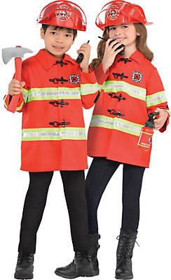 Child Fire Chief Accessory Kit 4pc