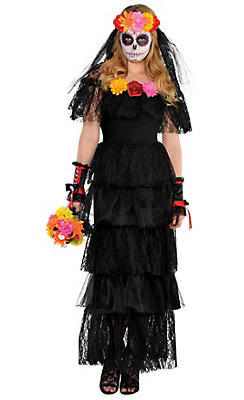 Black Day of the Dead Dress