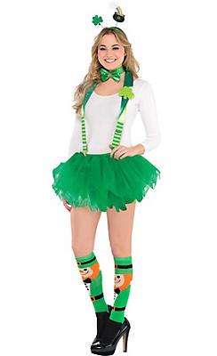 Adult Fancy Leprechaun St. Patrick's Day Costume