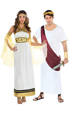 Royal Roman Couples Costumes