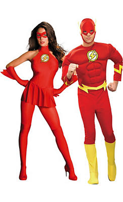 Adult Flash Couples Costumes