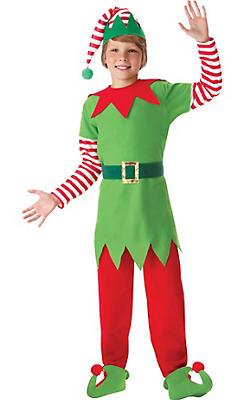 Boys Elf Costume