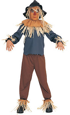 Boys Scarecrow Costume - Wizard of Oz