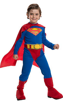 Little Boys Superman Costume