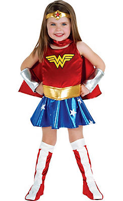 Toddler Girls Wonder Woman Costume