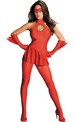 Adult Sexy Flash Costume