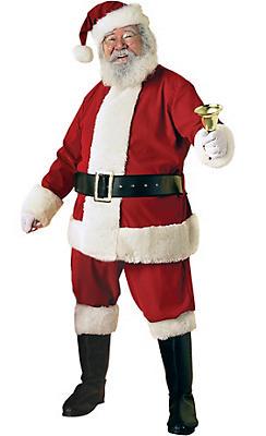 Adult Ultra Velvet Santa Suit