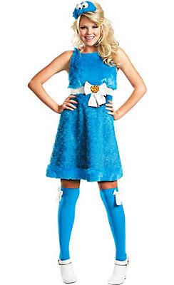 Adult Sassy Cookie Monster Costume - Sesame Street