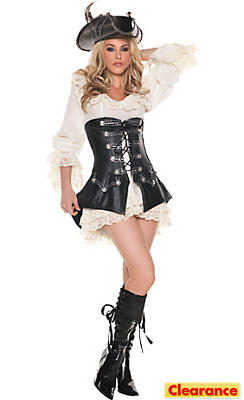 Adult Sexy Rouge Pirate Costume