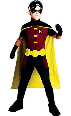 Boys Robin Costume - Young Justice