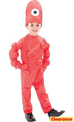 Toddler Boys Muno Costume Deluxe