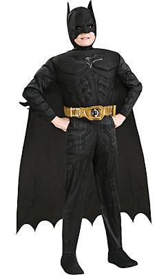 Boys Batman Muscle Deluxe Costume - The Dark Knight