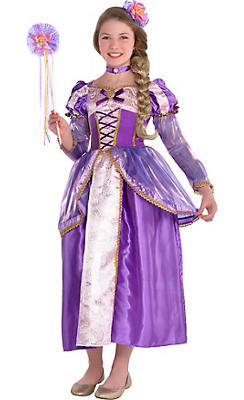 Girls Rapunzel Costume Supreme