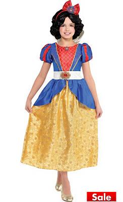 Girls Classic Snow White Costume