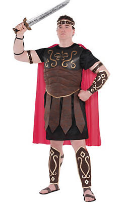 Adult Roman Centurion Costume Plus Size