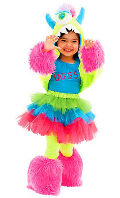 Toddler Girls Uggsy Costume Deluxe