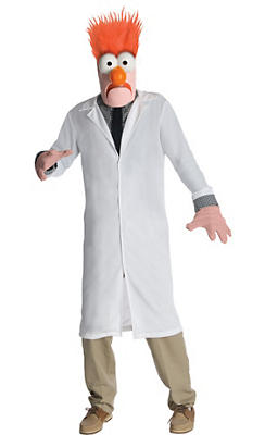 Adult Beaker Costume - The Muppets