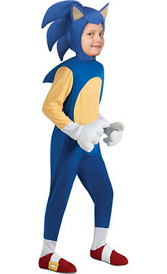 Boys Sonic Costume Deluxe - Sonic the Hedgehog