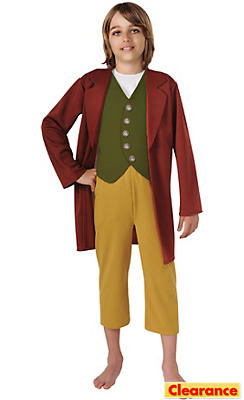 Boys Bilbo Costume - The Lord of the Rings