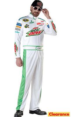 Adult Dale Earnhardt Jr. NASCAR Costume