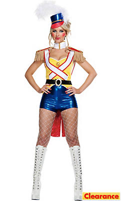 Adult Sexy Toy Soldier Costume