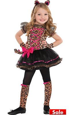 Toddler Girls Precious Leopard Costume