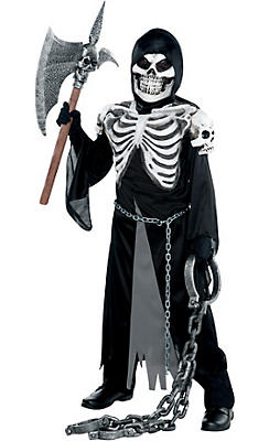 quick shop boys crypt keeper costume - Skeleton Halloween Costume For Kids