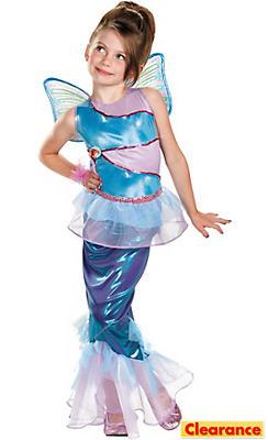 Girls Mermaid Bloom Costume Deluxe - Winx Club