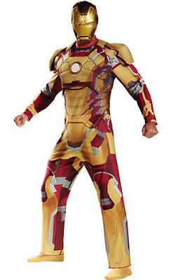 Adult Iron Man 3 Costume Deluxe