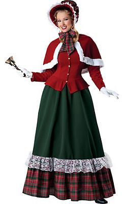 Adult Yuletide Lady Costume