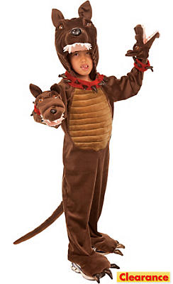 Boys Three-Headed Guard Dog Costume