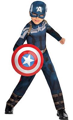 Boys Captain America Costume - Captain America 2