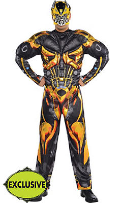 Adult Bumblebee Muscle Costume - Transformers 4