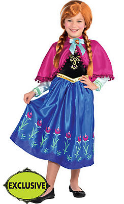 Girls Anna Costume - Frozen