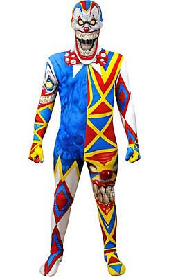 Boys Clown Monster Morphsuit
