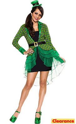 Adult Lucky Lass Leprechaun Costume