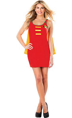 Adult Robin Tank Dress - Batman