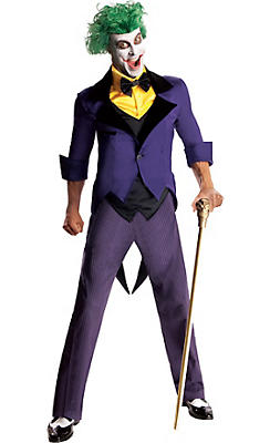 Adult Joker Costume - Batman