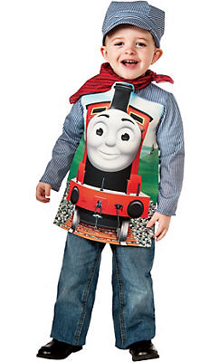 Boys James Engineer Costume Deluxe - Thomas & Friends
