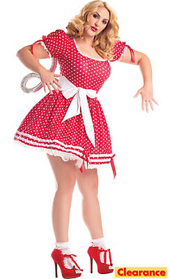 Adult Wind-Up Doll Costume Plus Size