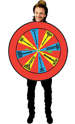 Adult Wheel of Misfortune Costume