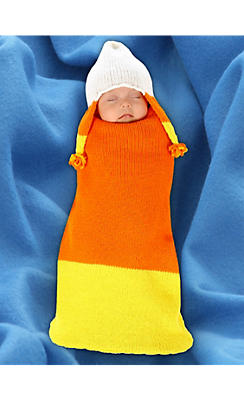 Baby Cocoon Candy Corn Costume