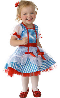 Toddler Girls Glitter Dorothy Costume - The Wizard of Oz