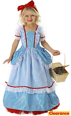 Girls Princess Dorothy Costume - The Wizard of Oz